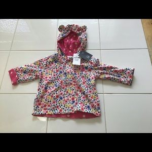 Infant Girl Baby Floral Jacket NWT